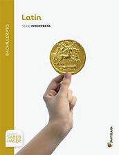 (15).LATIN 1º BACH. (SABER HACER). NUEVO. Nacional URGENTE/Internac. económico.
