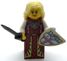 Lego New Castle Queen Lion Knight Kingdoms Minifigure Girl