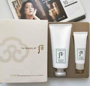 The History of Whoo - Gongjinhyang Seol Brightening Cleansing Foam 180ml+40ml