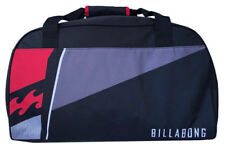 NEW +TAG BILLABONG MENS BASE LARGE OVERNIGHT TRAVEL LUGGAGE SPORTS GYM BAG BLACK
