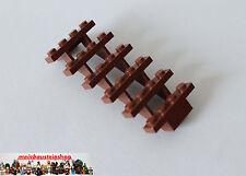 LEGO ® 30134 scale capo stairs 7x4x6 rosse-marroni Reddish Brown NUOVO