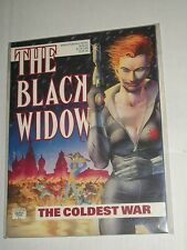 Marvel Graphic Novel Black Widow Coldest War Tpb Trade Paperback