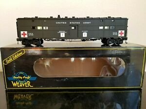 Weaver Models Gold Edition WW2 United States Army USA 8749, 3 Rail, Brand New