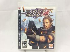 Time Crisis 4 Sony PlayStation 3, 2007 Complete Disc Manual Case Rated T