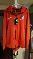 Nike NBA Portland Trail Blazers Men's Large Therma Flex Hoodie Jacket
