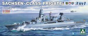 Takom 1/350 6001 Sachsen-Class Frigate