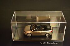VW Golf Cabriolet VI 2012 in scale 1/43 dealer edition