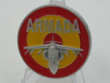 Spanish Navy AV8B Program ARMADA 9a ESCUADRILLA Challenge Coin