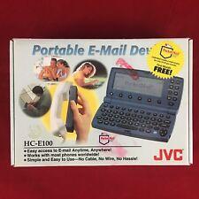 Vintage JVC Portable E-mail Device HC-E100 in box Vintage