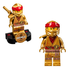 LEGO Ninjago Kai Legacy Collectible Minifigure with Stand from 71736 - njo650