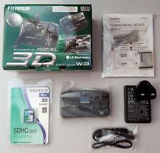 Fujifilm FinePix Real 3d w3 Kamera NEU OVP Fuji Digitalkamera im Beutel versiegelt