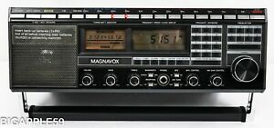 Magnavox D2999 Shortwave AM FM Radio Receiver Dual Speaker ***VERY NICE SOUND**