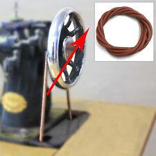 2m 5mm Antriebsriemen Leder Riemen Keilriemen Klammern für alte Nähmaschine