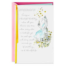 Hallmark  Greetings Card -  Brightest and Best Birthday Card for Granddaughter