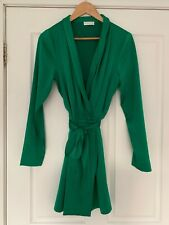 KOOKAI GREEN MAJESTIC WRAP DRESS. Sz40. Only Worn Once. Excellent Cond. RRP $220
