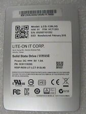 "Lite-On Technology 128GB LCS-128L9S 6Gbps 7mm internal SATA 2.5"" SSD Drive"