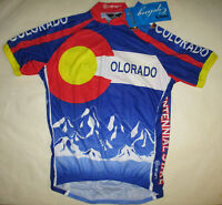 Colorado 1/2 Zip Cycling Jersey Canari New with Tags Men's Size Small