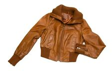 NEW LOOK REAL LEATHER Jacket Size 14