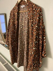 Warehouse Leopard Kimono Jacket Size S / M Never Worn