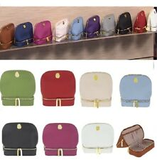 JOY Smart & Chic Genuine Leather Travel Case with Secret Section