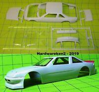 BODY - 1992-1993 NASCAR PONTIAC GRAND PRIX STOCK CAR BODY & GLASS - 1/25 SCALE