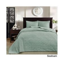 King Size Bedding Oversized Bedspread 3 Piece Elegant Classic Coverlet 120 x 118