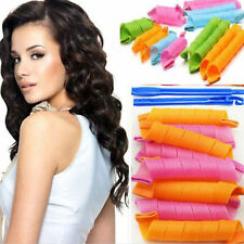 18pcs Magic Curlers Leverag Hair Tool Styling Rollers Spiral Circle Snail Tools