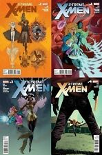 X-TREME X-MEN #1 2 3 4 1st print set MARVEL 2012 KID NIGHTCRAWLER WOLVERINE EMMA