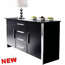 Stylish Sideboard Cupboard Buffet Cabinet Door Storage Chest of Drawer Furniture