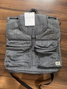 Porter Yoshida X Macintosh Glencheck Backpack Super Rare Made In Japan