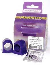 POWERFLEX BUSH Poly pour FIAT UNO Inc Turbo Front anti Roll Bar Intérieur Mount