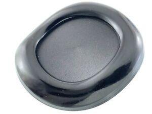 Vintage Carved Bakelite Black Size 1.5in Garment Button Circle Pattern 959A
