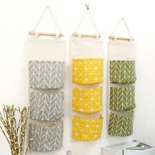 Wall Closet Hanging Storage Organizer Bag Toys Container Pocket Pouch Fashion