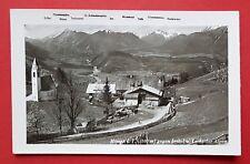 Foto AK MÖSERN in Tirol um 1942 Ortsansicht mit Kirche      ( 25373