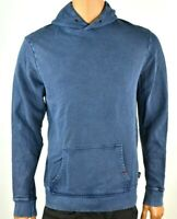Buffalo David Bitton Mens Hoodie New S L XL XXL Blue Logo Pocketed Long Sleeves