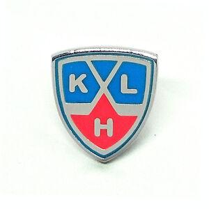 KHL pin badge brooch, Kontinental Hockey league, Eng/Rus, Russian Ice hockey