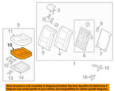 Front Passenger Side Genuine Hyundai 88200-3X000-PBS Seat Cushion Assembly