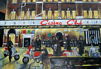 Scooters at the 3 Northern Soul Clubs, 3 signed limited edition prints