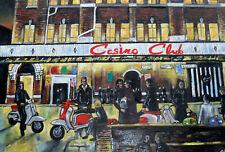 Scooters, Lambretta, Vespa, Northern Soul, Wigan Casino, The Wheel, The Torch A4