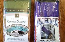 Caddis Kreature Komfort Hang Out House Corner Sleeper Ferrets Hamsters Squirrels