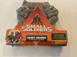 SMALL SOLDIERS : SECRET DECODER ACTIVITY CASE : NEW & SEALED DREAMWORKS 1998
