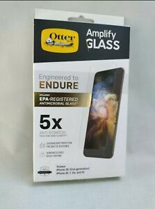 OtterBox Amplify Glass Screen Protector For Apple iPhone SE (2nd Gen)/8/7/6s/6