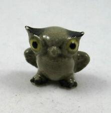 Hagen Renaker made in America miniature  Barn Owl  baby retired as is