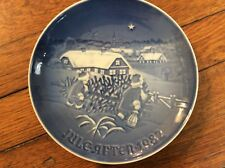 "Bing & Grondahl B& G 1982 Christmas Plate "" The Christmas Tree"""