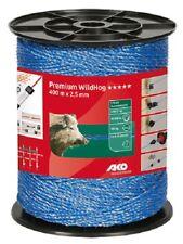 Weidezaunlitze Premium  Wildhog 400 m blau Litze Wildabwehr Wild 449312