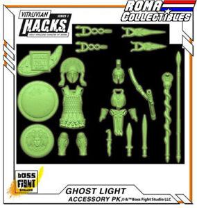 Boss Fight Studios - GHOST LIGHT Accessory Set Armor Vitruvian HACKS SOLD OUT