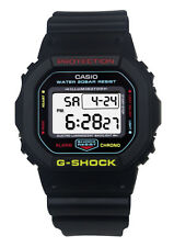 Casio DW5600CMB-1 G-Shock Gray LCD Digital Dial Black Blue Resin Band Watch