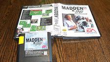Madden NFL 96 (Sega Genesis, 1995) USED CLASSIC VIDEO GAME FREE USA SHIPPING