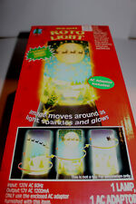 NEW NOS Holiday Roto Light with Christmas Scene