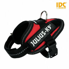 Julius K9 IDC Powerharness Pettorina Per Cani Rossa Taglia Baby 2 XS S 33-45 cm